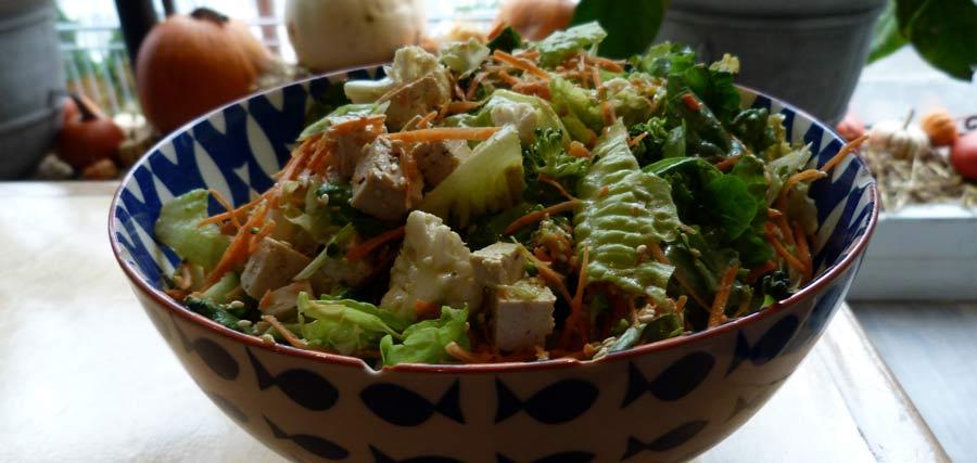 On a testé la salade Tokyo au bar à salades Mandy's | Montréal CityCrunch