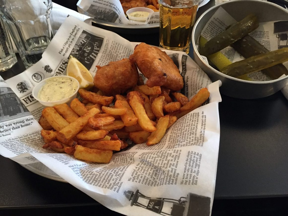 On a testé : Le Brit and Chips