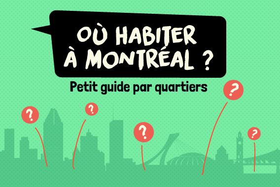 Où habiter à Montréal ? | Montréal CityCrunch