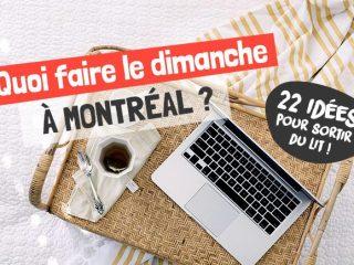 Quoi faire à Montréal le dimanche | Montréal CityCrunch
