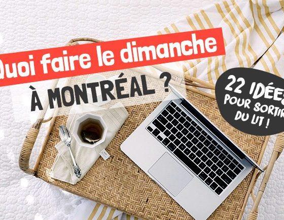 Quoi faire à Montréal le dimanche   Montréal CityCrunch
