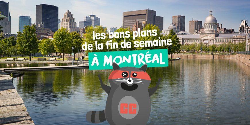 Les bons plans de la fin de semaine à Montréal | Printemps | Montréal CityCrunch
