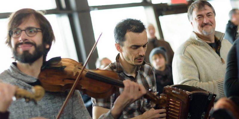 Dimanche Trad - violoniste / accordéoniste | Montréal CityCrunch