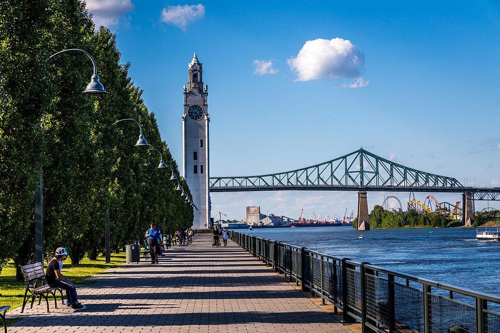 Tour de l'horloge - Vieux port de Montréal